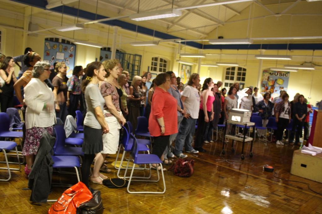 Tottenham Community Choir - Jackie Richards